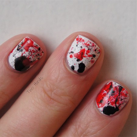 Splatter nails