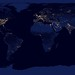 City Lights 2012 - Flat map by NASA Goddard Photo and Video
