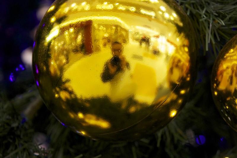 2012-12-06 クリスマスの飾り付け