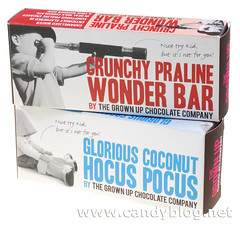 The Grown Up Chocolate Company Crunchy Praline Wonder Bar & Glorious Coconut Hocus Pocus