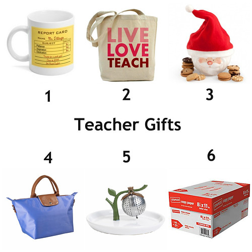 Mrs. Fields Secrets Teacher Gifts Guide