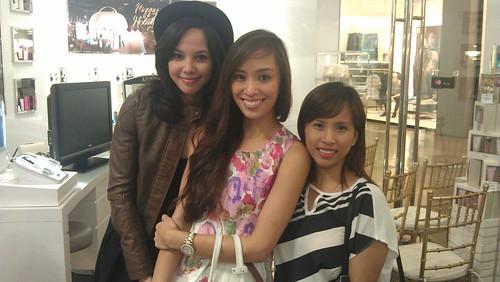 Lancone event with Patricia Prieto & Lisa Kahayon