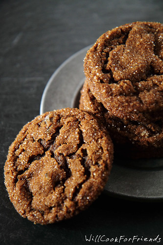 Triple Ginger Cookies, 1/2