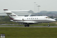 CS-DRQ - 258783 - Netjets Europe - Raytheon Hawker 800XP - Luton - 120518 - Steven Gray - IMG_1749