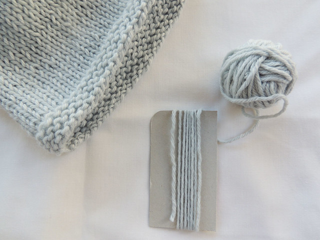 tutorial borla de tricot