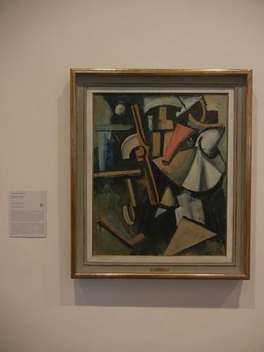 DSCN2883 _ Composition with Propeller (Composizione con elica), Mario Sironi, 1919, Collezione Peggy Guggenheim