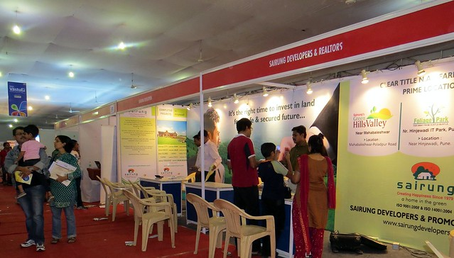 Pune Property Exhibition - Sakal Vastu - Property Expo - December 2012 - 24