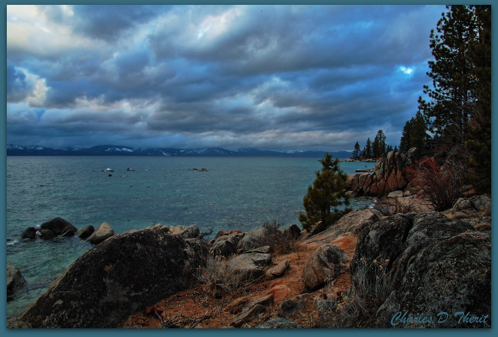 Elevation Of South Lake Tahoe Ca Usa Topographic Map
