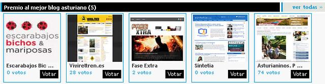 Premio al mejor blog asturiano