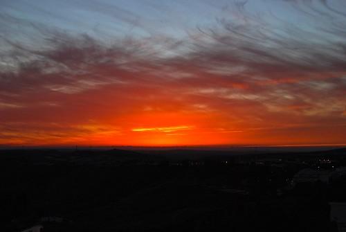 sunset spain andalusia whitehilltown whitehilltowns arcosdelafronterra fronterra