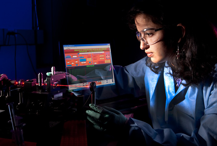 Los Alamos National Laboratory researcher Harshini Mukundan is exploring new ways to detect and diagnose tuberculosis.