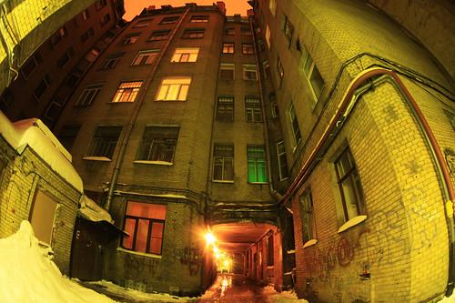 St.Petersburg backyards
