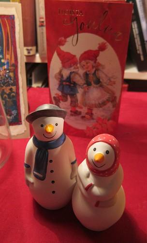 lumiukko ja lumimuori by Anna Amnell