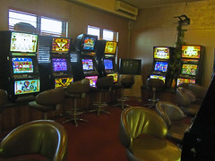 building, room, recreation room, games, casino,