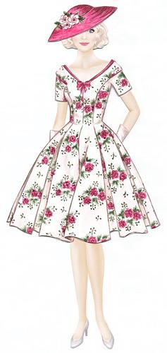 Margareth - vol 1 kleit roosa pilt