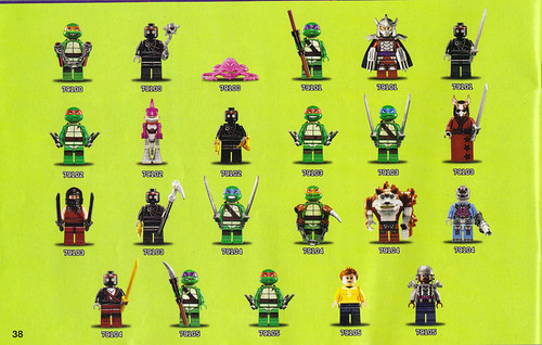 "LEGO Teenage Mutant Ninja Turtles :: ""Stealth Shell in Pursuit"" ; manual v (( 2013 )) by tOkKa"