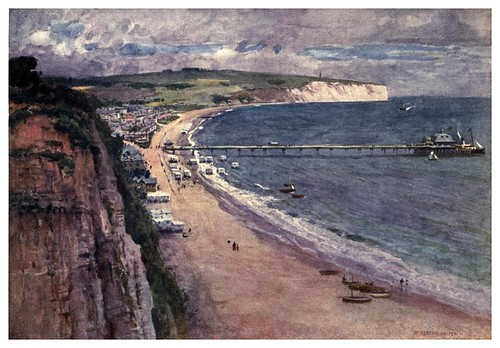 014-Bahia de Sandown-Isle of Wight (1908)-Alfred Heaton Cooper