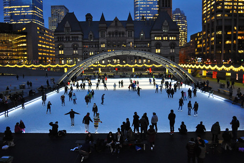 Skating Time! - Nathan Phillips Square, Toronto