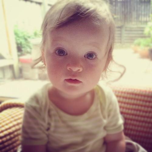 Violet 10 months