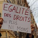 Manifestation pour le mariage pour tous, Toulouse