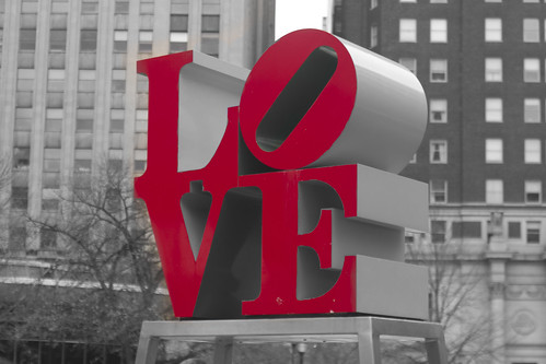 LOVE Sculpture por Ed