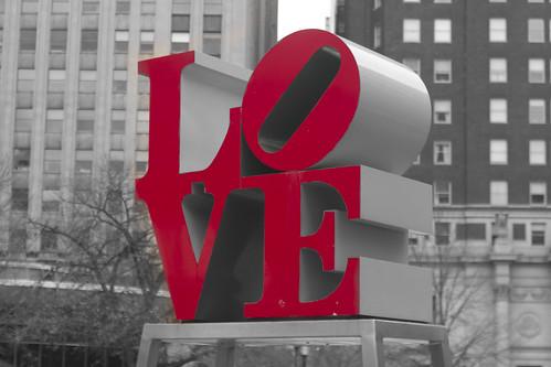 LOVE Sculpture por Ed