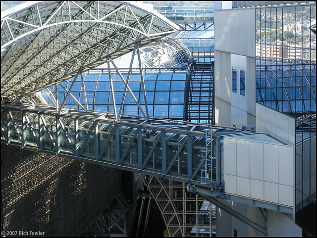 Kyoto Station Roof Detail