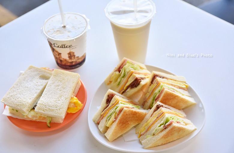 台中中華夜市28早午餐咖啡01