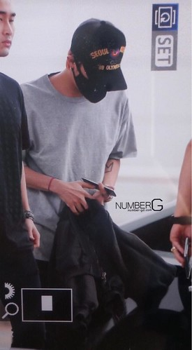 Big Bang - Incheon Airport - 25aug2015 - Number G - 01