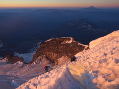Top of Ingraham Glacier