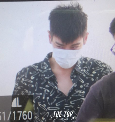 Big Bang - Incheon Airport - 19jun2015 - The TOP - 03