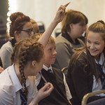 School pupils get the chance to ask their questions | © Phil Wilkinson