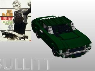 Ford 1968 Mustang 390 GT Fastback - 'Bullitt'
