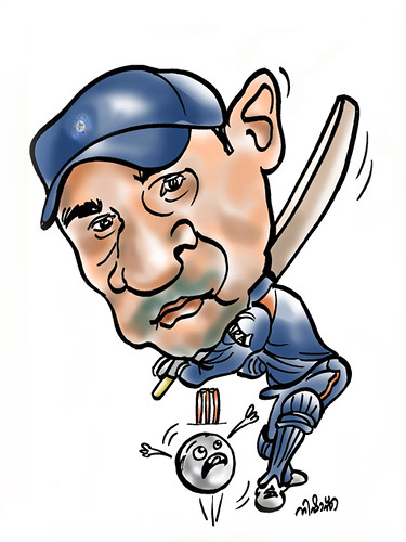 Virender Sehwag Cartoon