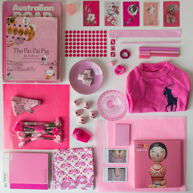 Collecting Colour : September is Pink