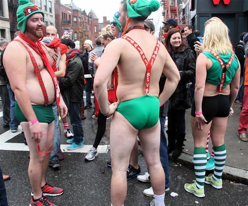 boston santa speedo run 2012 35