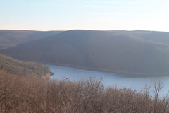 South West Over Allegheny Reservior