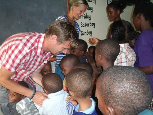 Andrew, Kari & the children