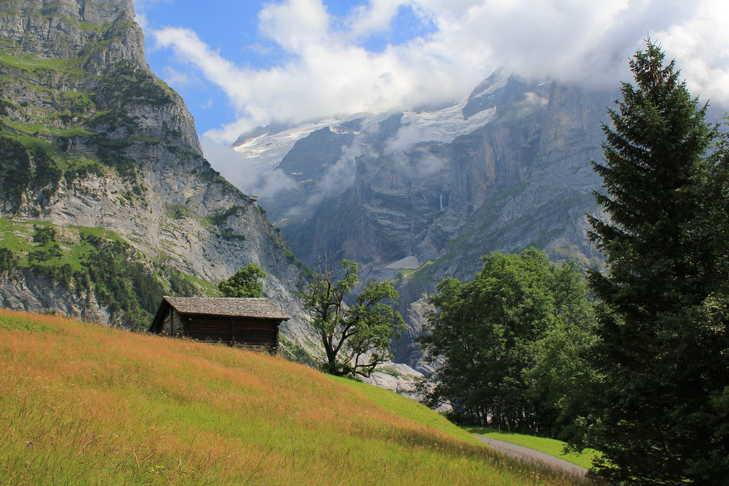 """Mountains of the Grindelwald valley, """" Explored :-) """""""