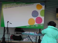 Boluntariotzaren Itzulia - Barakaldoko GKEn Azoka