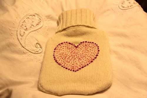 The Cross Hot Water Bottle