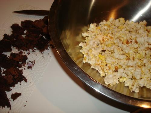 Brownie Popcorn