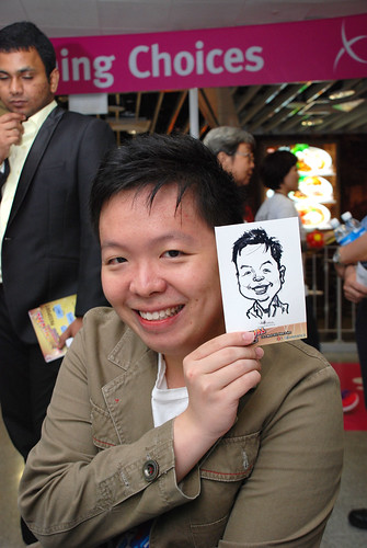 digital live caricature sketching for iCarnival (photos) - Day 1 - 61