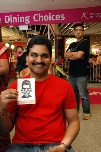 digital live caricature sketching for iCarnival (photos) - Day 1 - 117