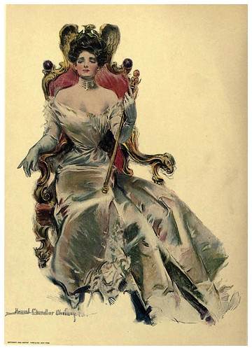 006-Una verdadera reina-The American girl, as seen and portrayed by Howard Chandler Christy-1906
