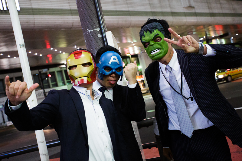 Avengers salarymen !