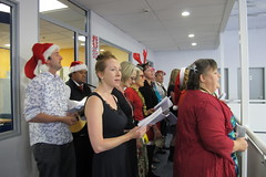 Flickr photograph of waiata group