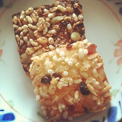 snack : MUJI cereal biscuits #photoadaymay