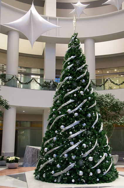 Capella Tower Christmas tree