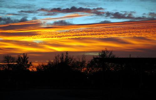 orange sun yellow sanantonio clouds sunrise texas nikond70
